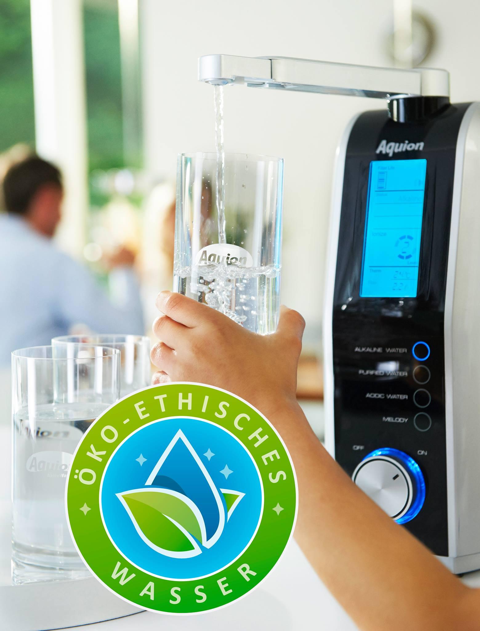 Öko etisches Wasser